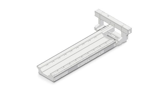 Визуализация конструкции станка ACCORD 30 FX, производство SCM Италия