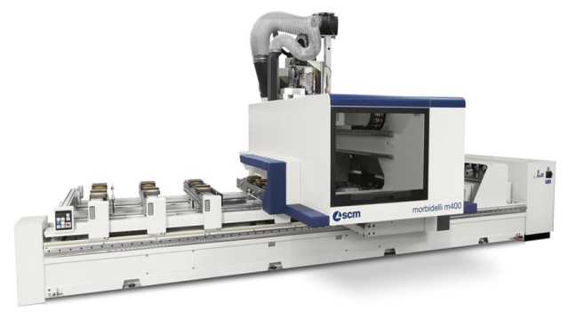 Обрабатывающий центр с ЧПУ Morbidelli M 400, производство SCM Италия