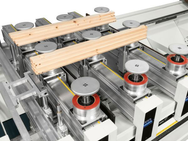 Траверсный рабочий стол MATIC станка с ЧПУ SCM ACCORD 40 FX, производство SCM Италия