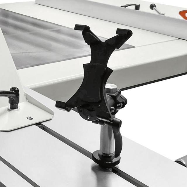 Держатель планшета на каретке форматно-раскроечного станка Nova SI 400, производство SCM Италия