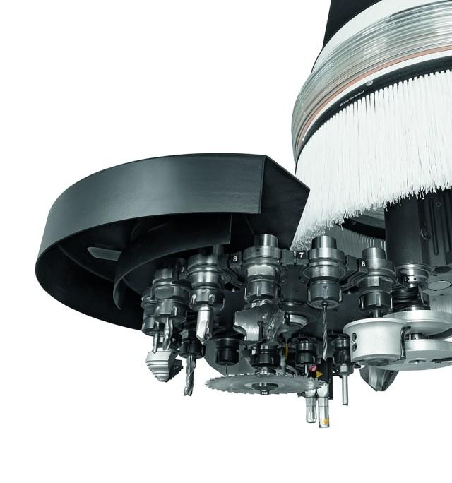 Инструментальный магазин Rapid16 Morbidelli M 100/200, производство SCM (Италия)