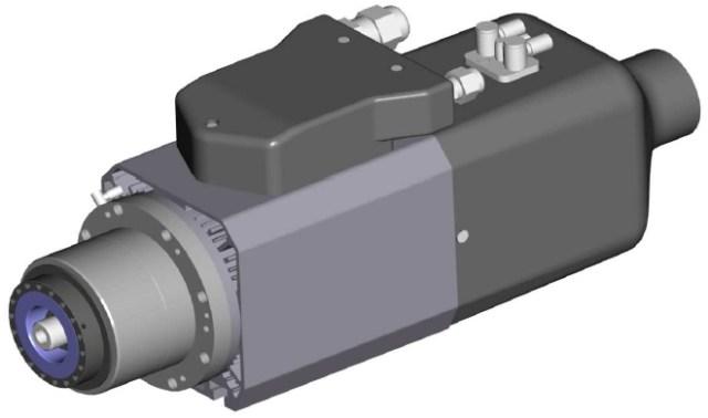 Электрошпиндель 6,6kW Morbidelli N100, производство SCM (Италия)