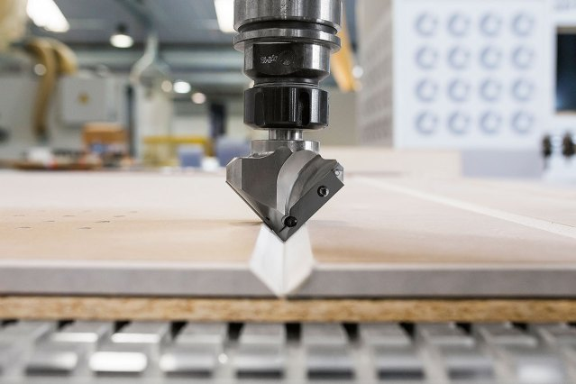 Нестинг на Morbidelli N100, производство SCM (Италия)