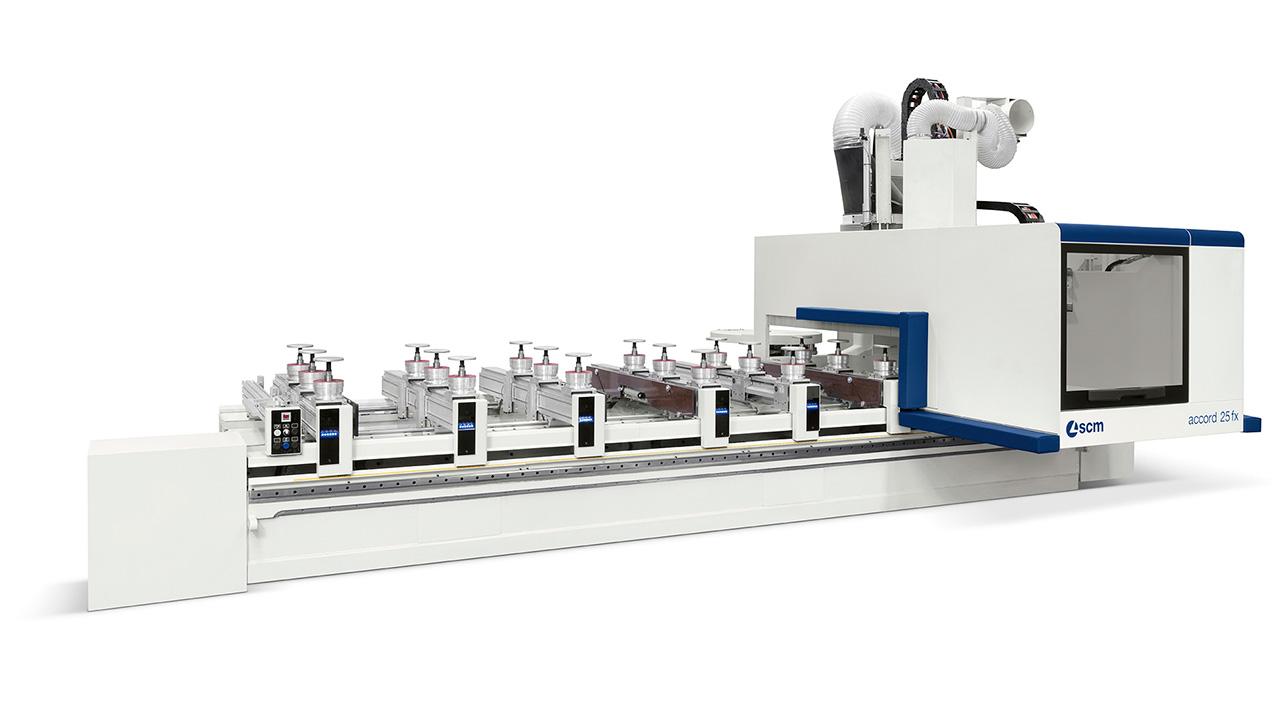 Обрабатывающий центр с ЧПУ ACCORD 25 FX, производство SCM (Италия)