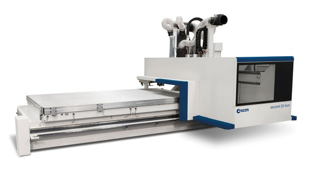 Обрабатывающий центр с ЧПУ ACCORD 25 FXM, производство SCM (Италия)
