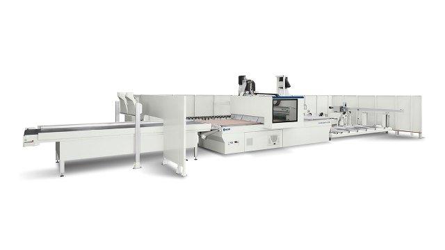 Обрабатывающий центр с ЧПУ Morbidelli N200, производство SCM (Италия)