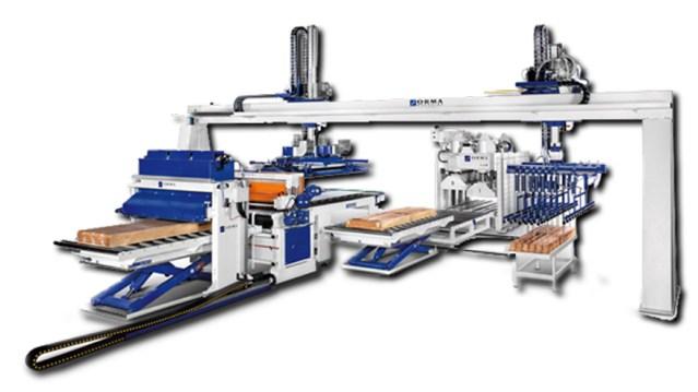 Холодный пресс PFL Parquet, производство ORMA Machine Италия