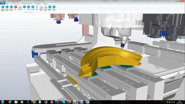 Программное обеспечение Maestro pro view ACCORD 50 FX, производство SCM GROUP (Италия)