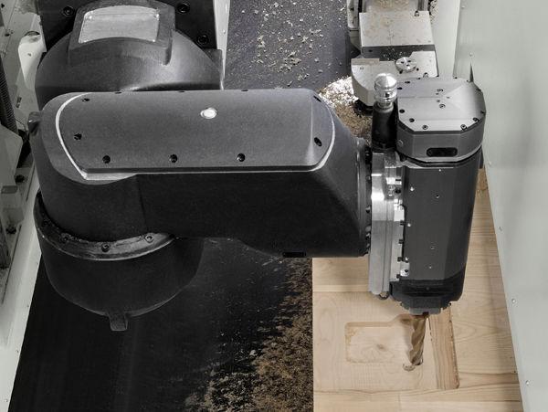 Программное обеспечение Maestro Beam&Wall обрабатывающего центра с ЧПУ для домостроения OIKOS, производство SCM Италия