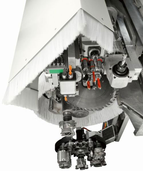 Рабочий узел BRC станка с ЧПУ ACCORD 40 FX, производство SCM Италия