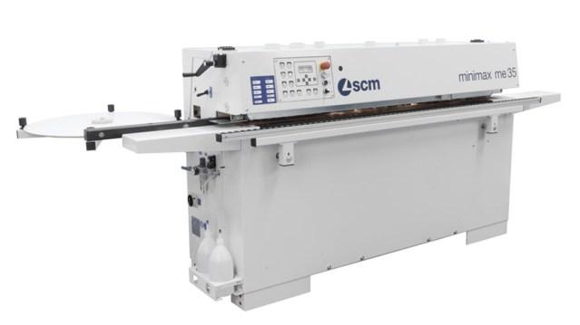 Кромкооблицовочный станок Minimax 35 T, производство SCM Италия, вид спереди