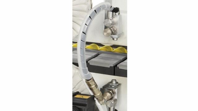 Кромкооблицовочный станок Stefani MD, производство SCM Италия, распылитель