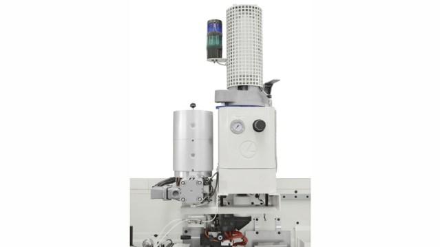 Кромкооблицовочный станок Stefani MD, производство SCM Италия, блок предплавления