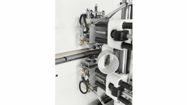 Кромкооблицовочный станок Stefani MD, производство SCM Италия, скребок для клея