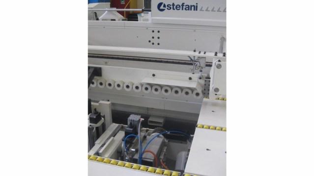 Кромкооблицовочный станок Stefani XD, производство SCM Италия, внешнее фрезерное устройство