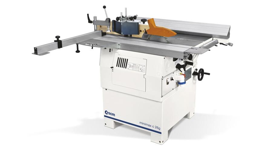 Универсальный многооперационный станок Minimax C 26G, производство SCM Италия