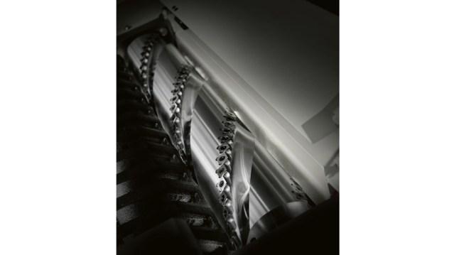 Спиральная головка Xylent многооперационного станка Minimax C 30G, производство SCM Италия