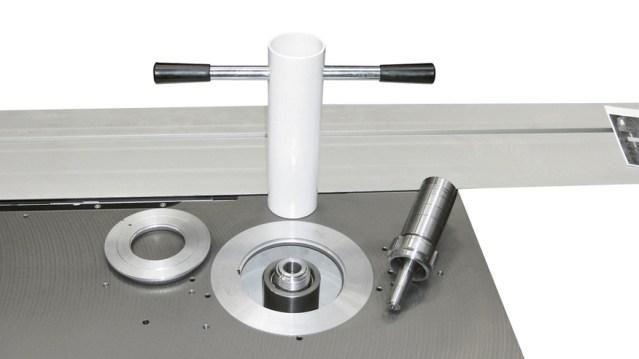 Сменный шпиндель для станка Minimax CU 410E, производство SCM Италия