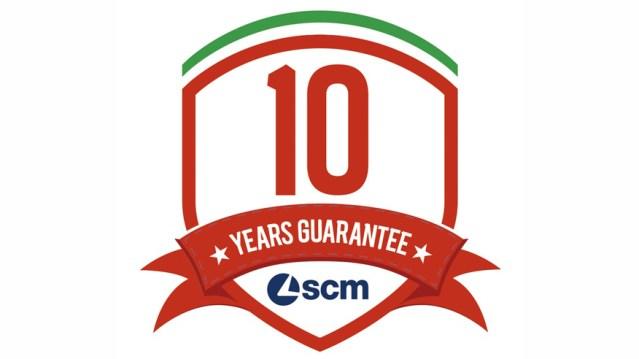 10 лет гарантии от SCM