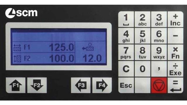 Четырехсторонний продольно-фрезерный станок – Компоновка 5 Profiset 60EP, производство SCM Италия
