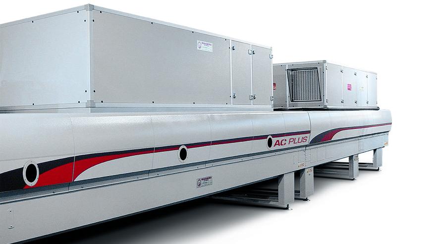 Туннель сушки AC-TL, производство Giardina Group Италия