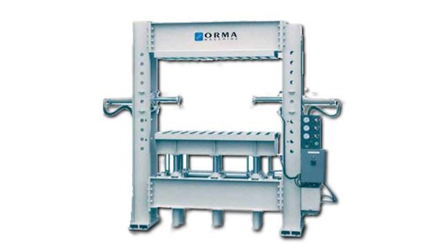 Оборудование для гнутья элементов из массива с пропаркой, производство ORMA Machine Италия
