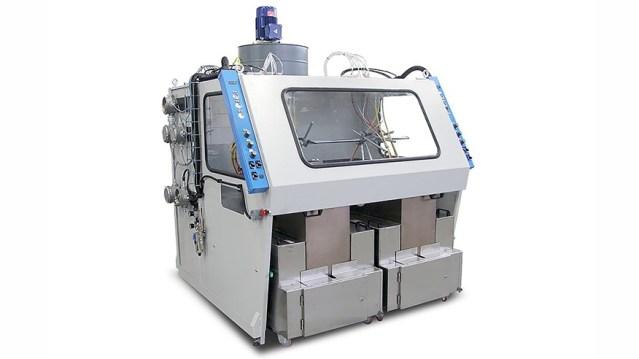 Автомат окраски распылением с 2 окрасочными контурами 2 VE, производство Giardina Group Италия