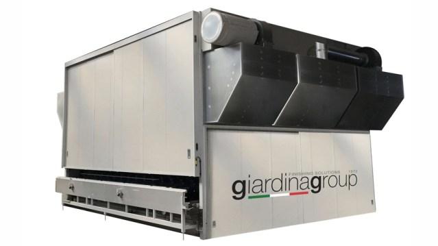 Вертикальная проходная сушильная камера FVP, производство Giardina Group Италия