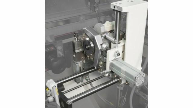 Автоматический кромкооблицовочный станок Minimax ME 40 TR, производство SCM Италия, головная группа