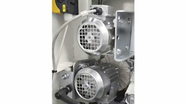 Автоматический кромкооблицовочный станок Minimax ME 40 TR, производство SCM Италия, кистевая группа