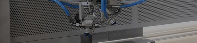 Автомат окраски распылением с 2 окрасочными контурами 2 VE  от производителя Giardina Group (Италия)