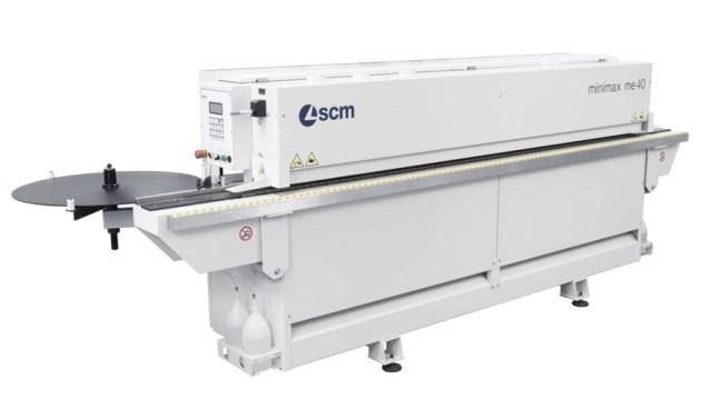 Автоматический кромкооблицовочный станок Minimax ME 40 TR, производство SCM Италия