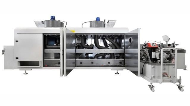 УФ-сушильный туннель для погонажных изделий SPC, производство Giardina Group Италия