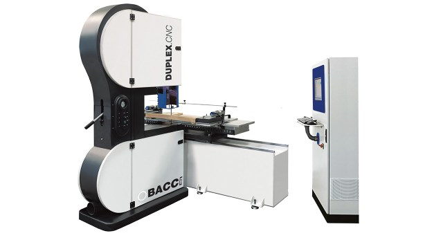 Ленточнопильный станок с ЧПУ DUPLEX CNC, производство Bacci Италия