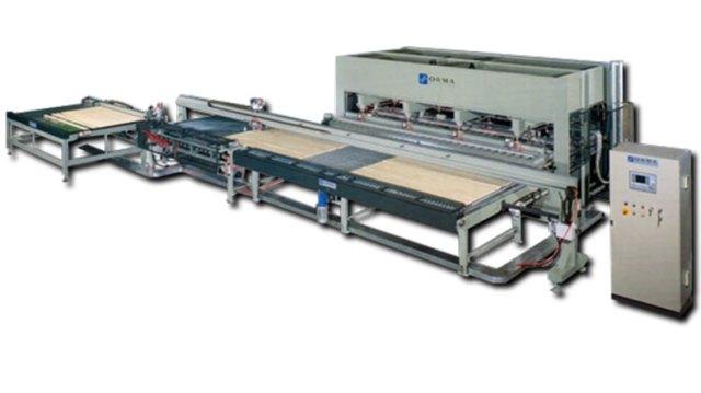 Пресс для мебельного щита LS V, производство Ormamacchine Италия