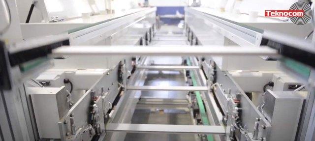 Серволифт для подъема заготовки и её возврат верхним транспортером в сторону оператора Bord DP, производство Fiorenza Италия