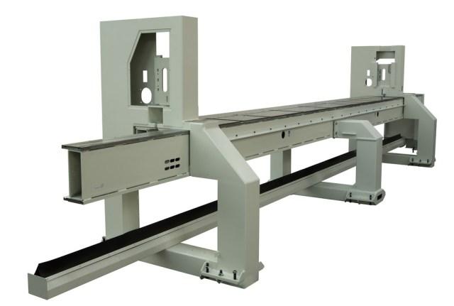 Станина углового раскроечного центра Gabbiani A2, производство SCM Италия