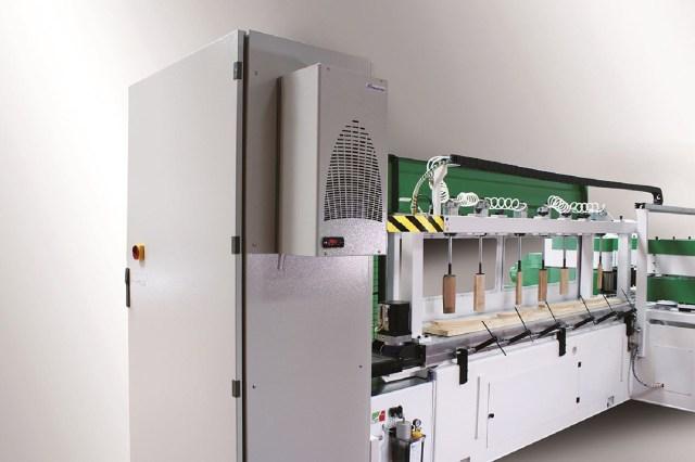 Продольно фрезерно-шлифовальный центр с ЧПУ CFL CNC, производство Greda Италия