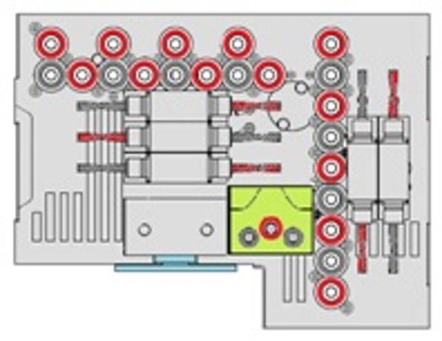 Сверлильная голова F31LTC станка Morbidelli M90