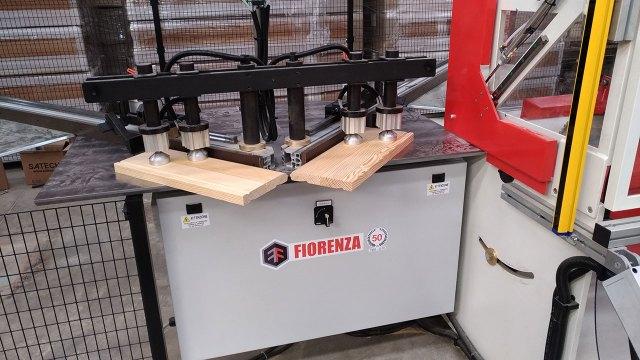 Станок для производства гробов TRFR-E, производство Fiorenza (Италия)