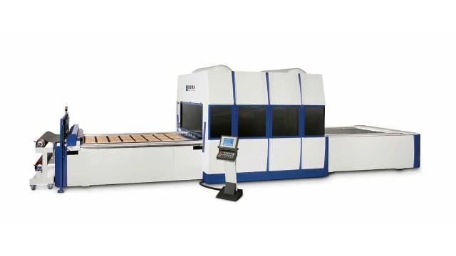 Мембранный пресс с 3 загрузочными лотками AUTOMATION 3 TRAYS, производство ORMA Macchine (Италия)