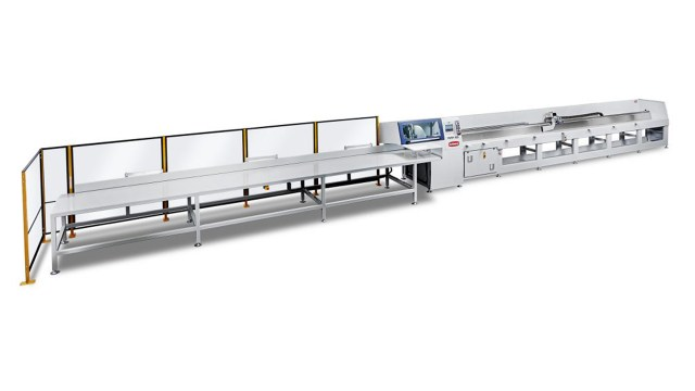 Оптимизирующая торцовочная пила PUSH-100, производство Bottene Италия