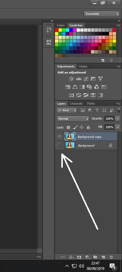 Cara Ganti Warna Background Di Photoshop Cs6 : ganti, warna, background, photoshop, Ganti, Background, Photoshop, Teknodaim.com