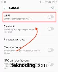 cara mengatasi masalah gagal autentikasi jaringan wifi lewat forget network
