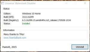 Windows 10 Uyarı Yazısı Kaldırma