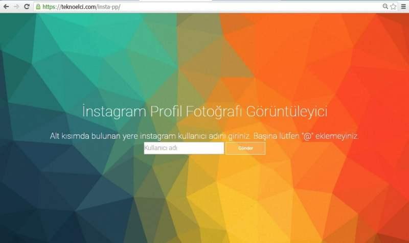 instagram profil fotoğrafı büyütme