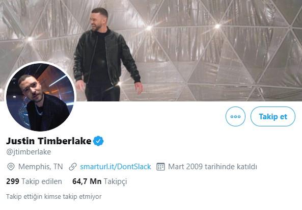 13- Justin Timberlake