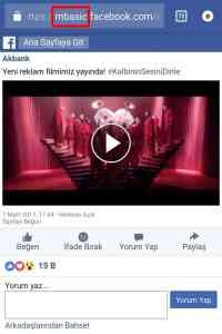 facebook video indirme android ios