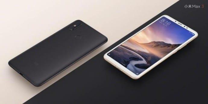 2- Xiaomi Mi Max 3