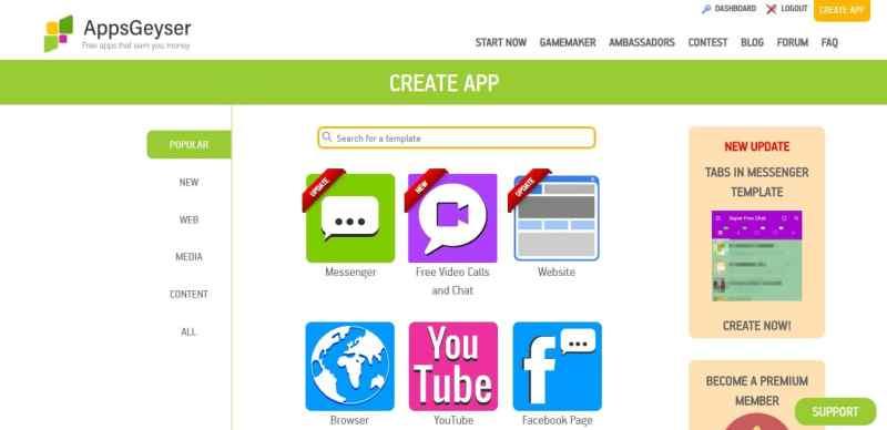 internet siteniz için mobil uygulama yapın